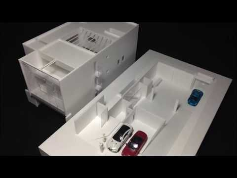 Youtube アリの巣のような地下断面模型の作り方basement Underground