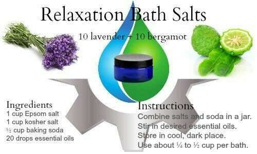 Bath salt recipe