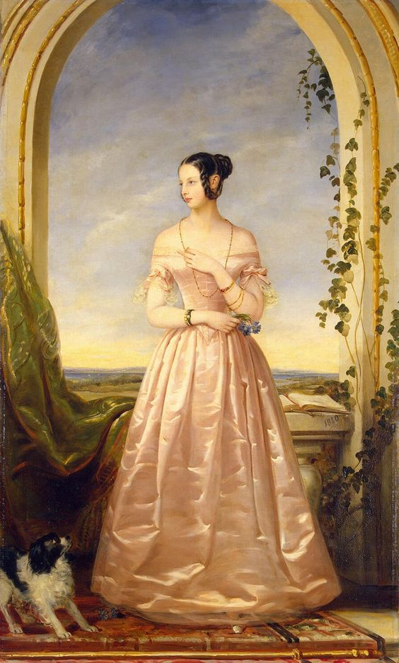 Grand Duchess Alexandra Nikolaevna (1825 – 1844), daughter of Emperor Nicholas I