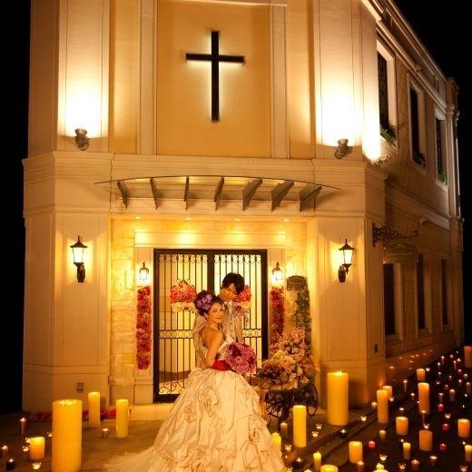 Romantic Night Wedding