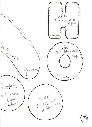 Moldes Para Artesanato em Tecido: Jogo de Banheiro