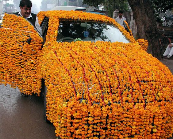 An strange marriage ceremony auto decoration designs for Auto decoration in pakistan