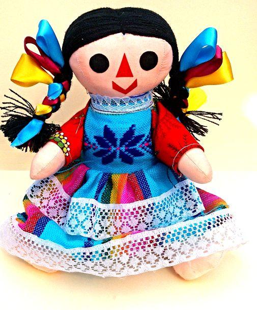 La #Maria es una muñeca tradicional #mexicana  hecha de trapo y materiales…