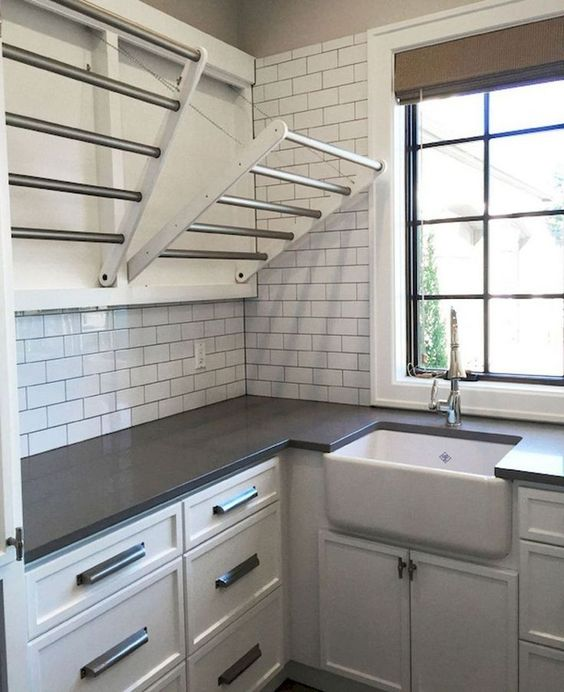 17 Top Cozy Small Laundry Room Design Ideas Lmolnar In 2020 Laundry Room Tile Small Utility Room Elegant Laundry Room