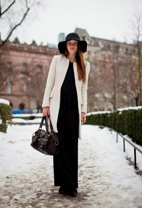 Gardrop Kedisi: Kışın maxi etek ve elbiseler nasıl giyilir?