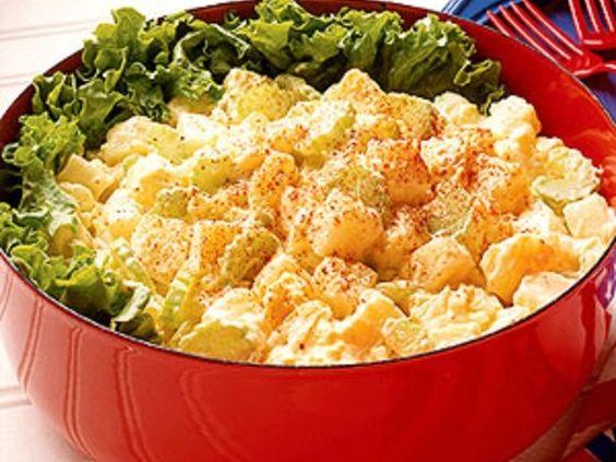 Salada de Batata Cremoso