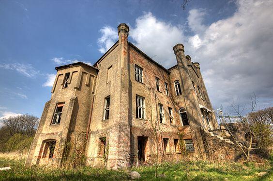 castillo abandonado en Alemania