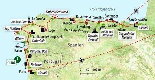 Rundreise Spaniens Atlantikkuste Vom Baskenland Nach Portugal