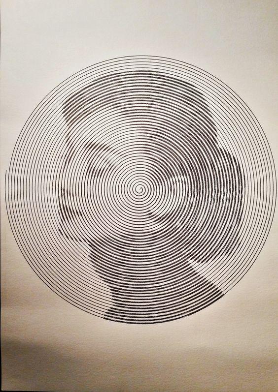 Single unbroken line portraits - Imgur