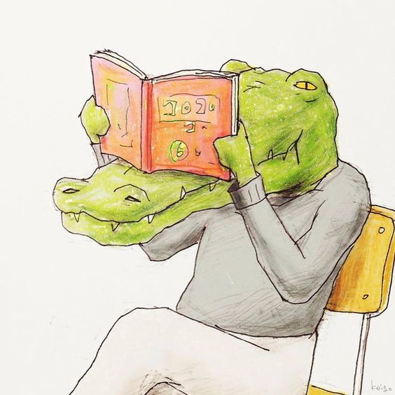 Have you ever though how croco reads? :)