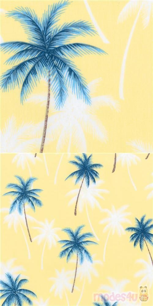 Tree Fabric Collection Island Paradise Design Sevenberry