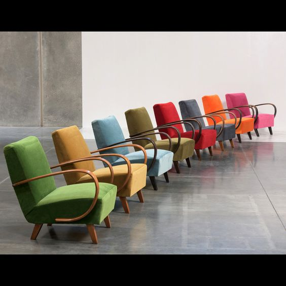 Seating. Jindrich Halabala Armchairs circa 1930s. Shop It: Obsolete.