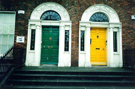 Irish doors, love.