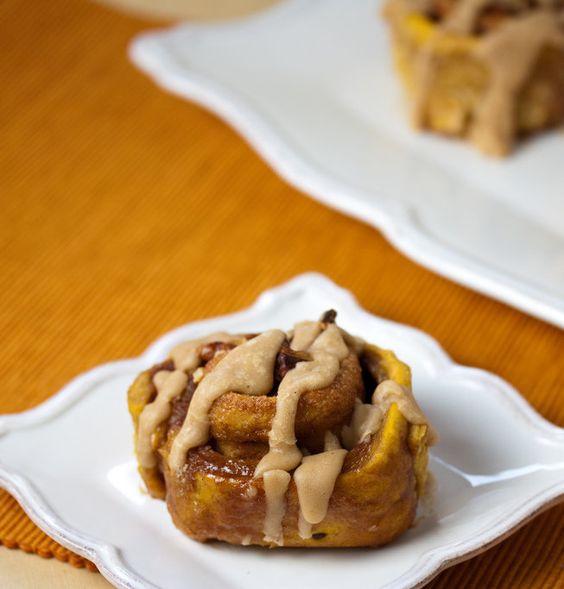 Recipe for Pumpkin Cinnamon Rolls