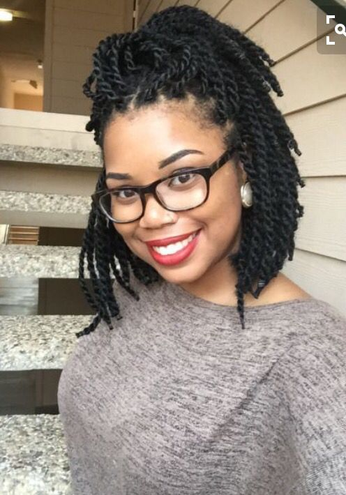 Havana Twist Bob Natural Beauty Pinterest Coiffures