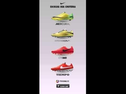 Nike - Banner: 4 Chuteiras