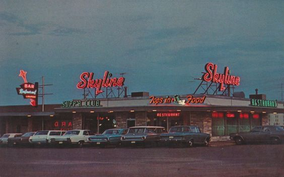 https://flic.kr/p/rJom3n | Skyline Supper Club & Starlite Lounge - Albert Lea, Minnesota | When in Albert Lea visit the fabulous Club and Lounge on Junction Hiways 16-69 & 13 West. Finest food, fast service, reasonably priced. Unlimited parking. Seating capacity for over 650. Catering to sales meetings, banquets, receptions. Smorgasbord daily. Entertainment nightly.