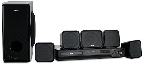 RCA DVD Home Theater System - RTD325