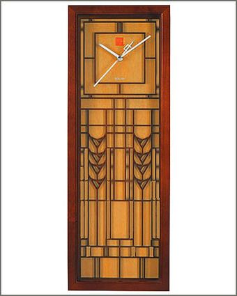 frank lloyd wright lloyd wright and wall clocks on pinterest. Black Bedroom Furniture Sets. Home Design Ideas