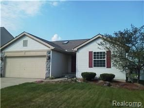 New listing - 1666 Chelsea Circle, Hartland, Livingston County.  3 bedroom Ranch in Millpointe of Hartland