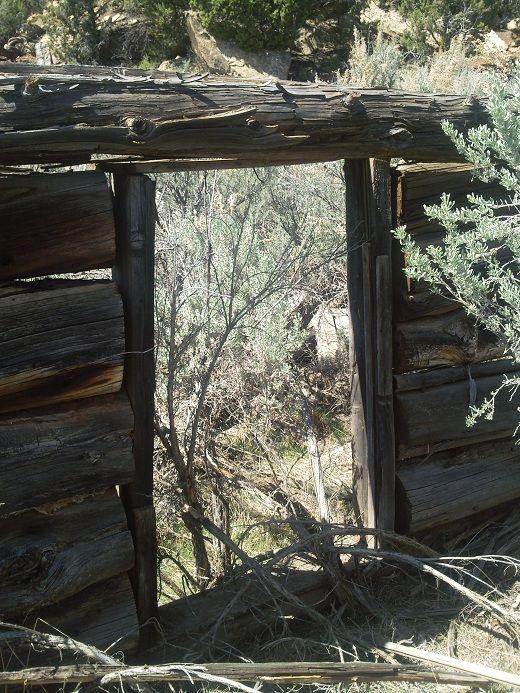 Old cabin in De Beque, CO.