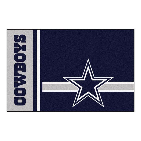 Dallas Cowboys Uniform Inspired Area Rug