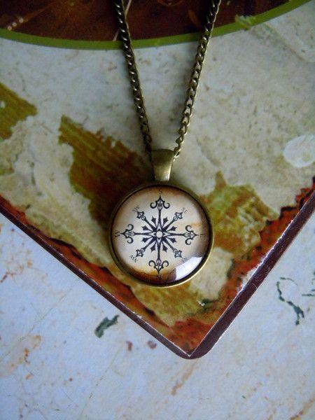 """Ketten - Kette """" Kompass"""" - ein Designerstück von Love-design bei DaWanda"""