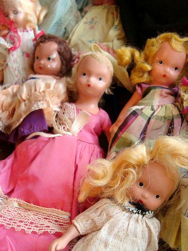 Nancy Ann vintage dolls.  I had a collection of Storybook dolls when growing up.