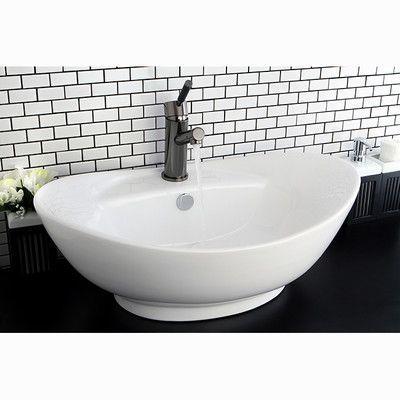 Kingston Brass Harmon Vessel Bathroom Sink Brass, Bathroom and