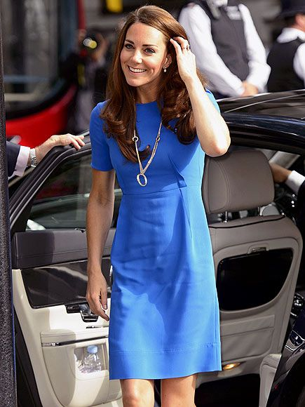 Kate Middleton at Olympic pre-event