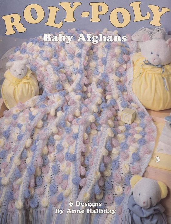 Roly-Poly Baby Afghan Crochet Patterns - 6 Designs | Crochet ...