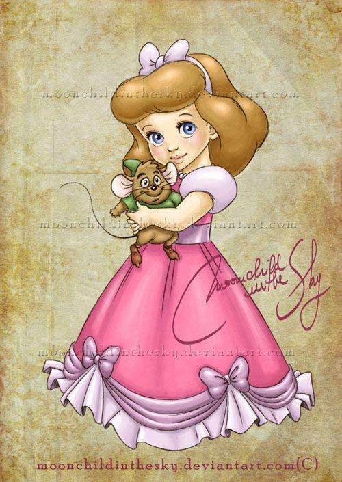 Crianças Disney Princesas Cinderela