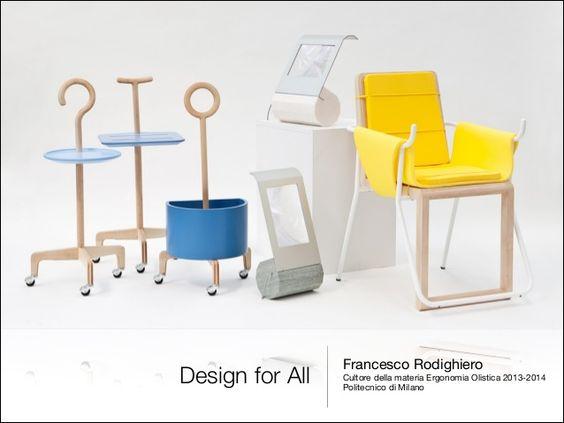 Design for All  Francesco Rodighiero   Cultore della materia Ergonomia Olistica 2013-2014  Politecnico di Milano