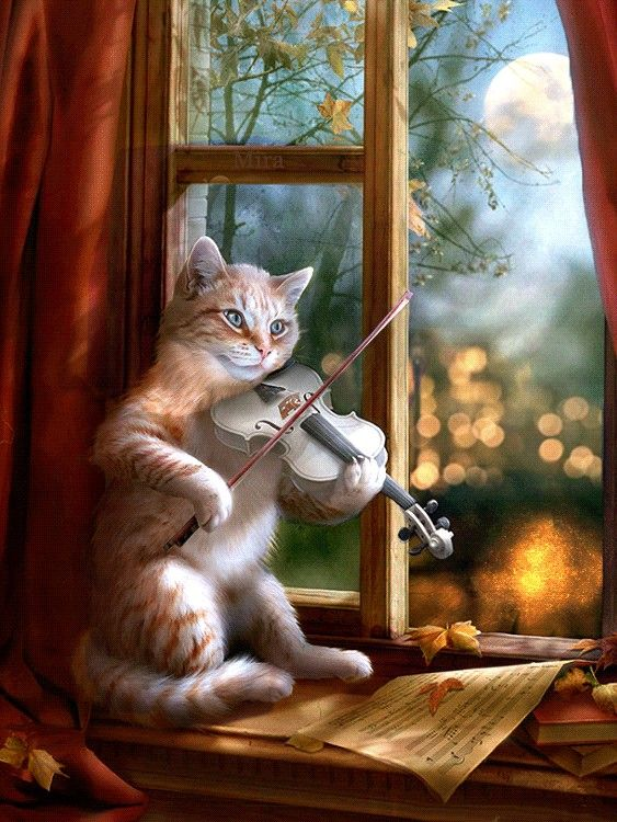 Pin By Annie Narbel On Les Saisons In 2020 Cats Illustration Cat Art Cats