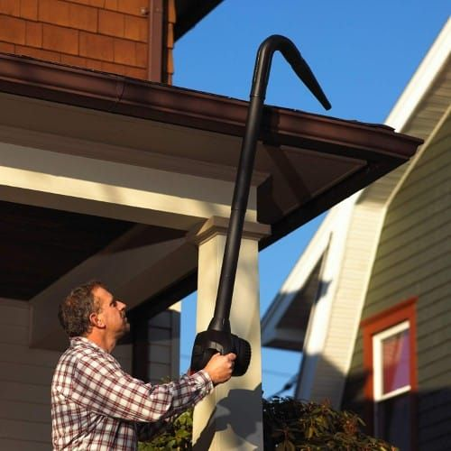 Shop Vac 9197000 2 5 Inch Gutter Cleaning Kit Cleaning Gutters Gutter Cleaning Tool Shop Vac
