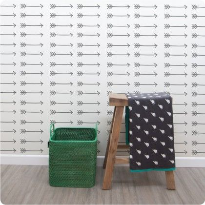 Our new Arrows removable wallpaper!  Choose any colour from our updated palette