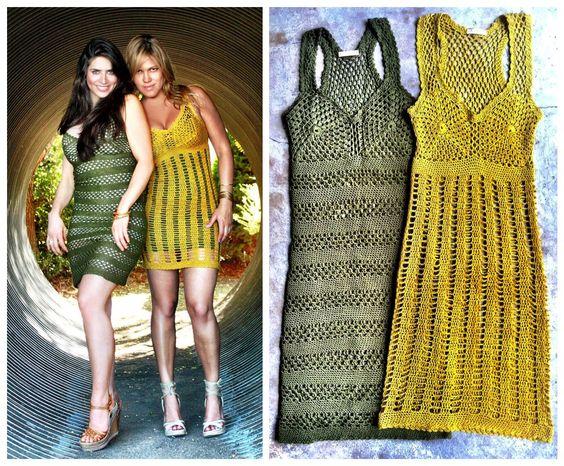 Custom dress handmade crochet