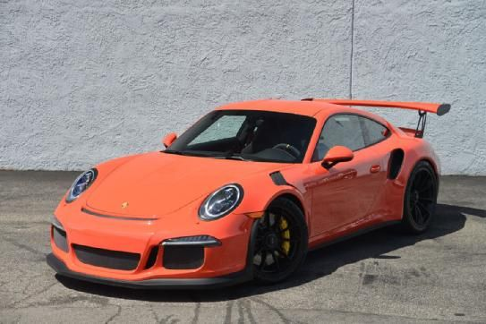 Brand New 2015 Porsche GT3 RS, Only 42 Miles, Asking $360000.00, Lava Orange/Black Leather/Alcantara Interior, Heated Seats, Front Axles Lift, Sound Package Plus, Seat Belts Lava Orange, Sport Chrono, Bluetooth, Sirius/XM Radio, Sport Chrono Dial White, Vehicle Key Painted, Adaptive Sports Seats, Auto Dim Mirrors, LED Headlights, Storage Lid Alcantara, Door Sills Carbon/Illuminated, Clear Taillights, Contact me at tafsr192@aol.com   minder weergeven