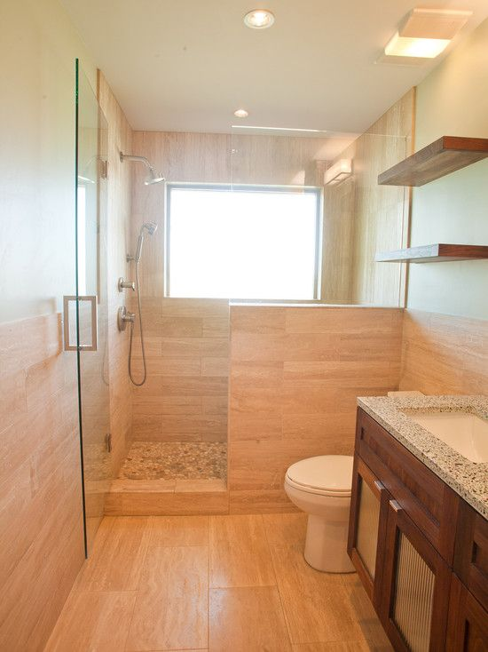 5 Phenomenal Bathroom Tile Combinations: Bathroom Tile Combination Modern Travertine Tile