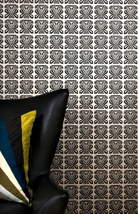 Metropolitan Wallpaper from Mimou . #wallpaper