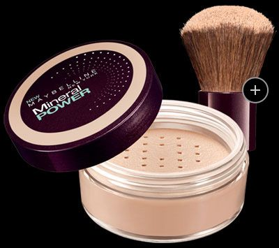 """Maybelline Mineral Power Powder Foundation- I replaced my pricey and hard to maintain """"Sheer cover"""" that I was ordering from the states with this medium coverage mineral powder. just as good for way less money and better yet-available almost everywhere!"""