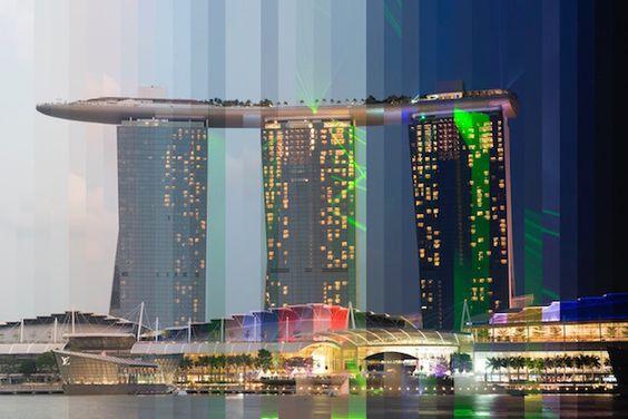 日の出から夜更けまでを1枚の写真で表現した『TIME SLICED』が美しい!