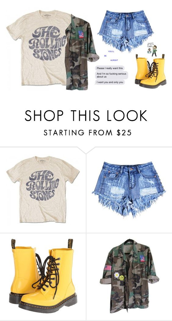 """""""Untitled #1809"""" by chill-outfits ❤ liked on Polyvore featuring Dr. Martens"""