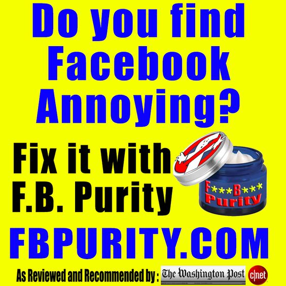 Install F B  Purity to Clean Up + Customize Facebook