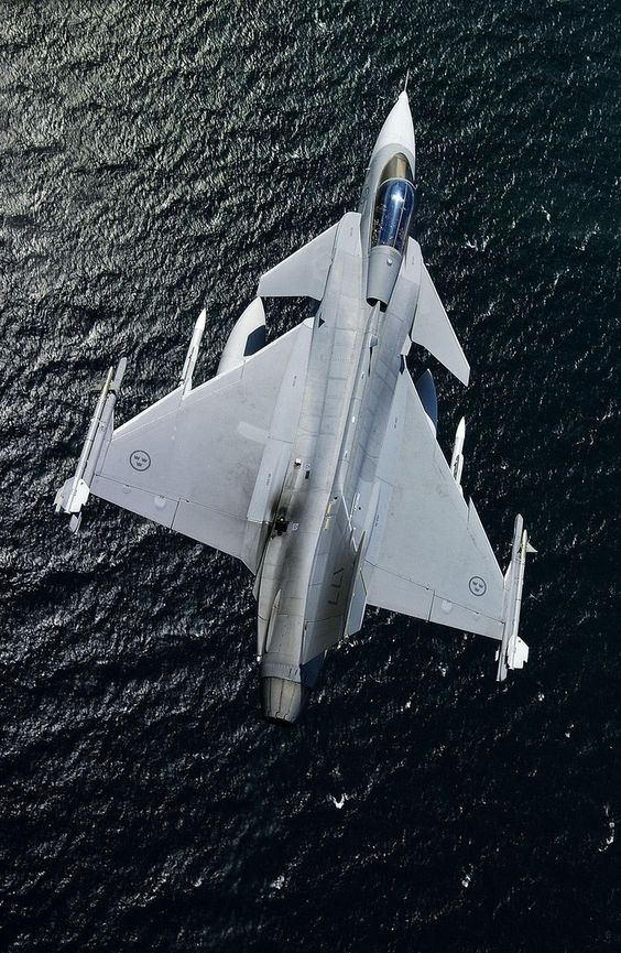 SAAB Gripen. Awesome bit of kit. One of my favourites.