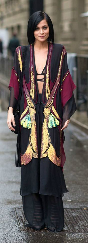 Butterfly Kimono Outfit Idea by LadyAddict