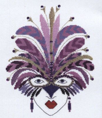 Roxanne Cross Stitch Kit by Heather Anne Designs for Classic Embroidery