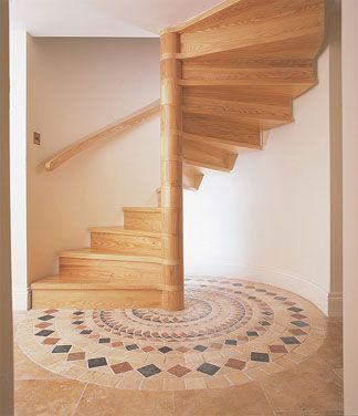 Best Solid Timber Spiral Staircases Wooden Spirals Cottage 400 x 300