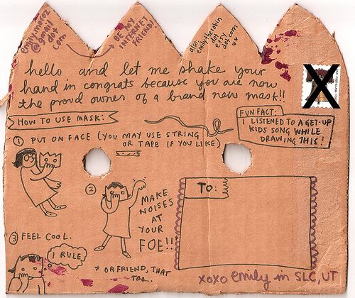 EmilyM. (back), Mail Art Collective