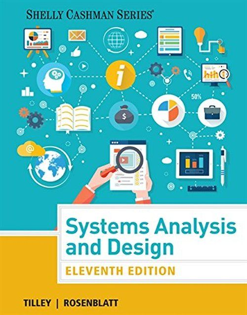 Etextbooks Systems Analysis And Design Shelly Cashman Series 11th Edition Free Reading Computer Books Free Books Online